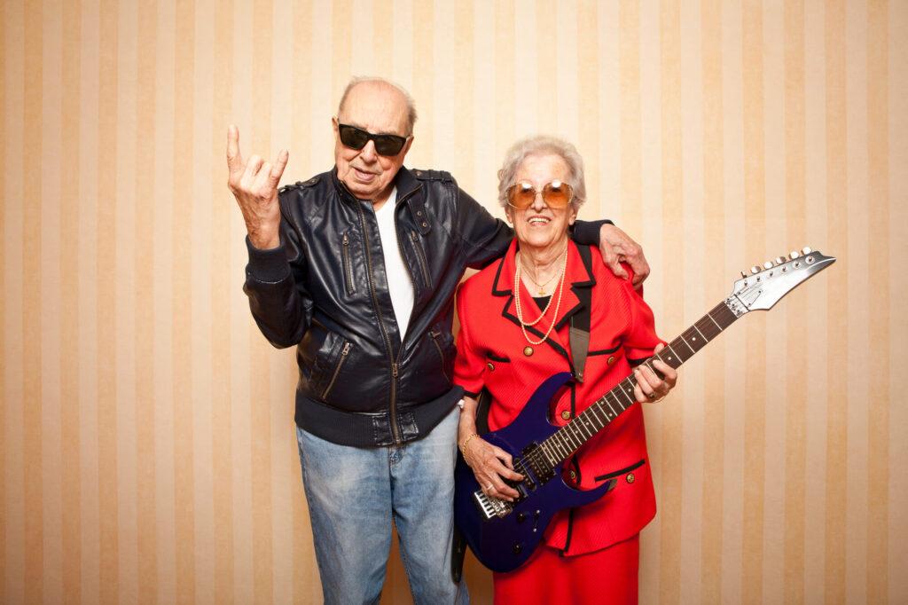 Senior couple over 70