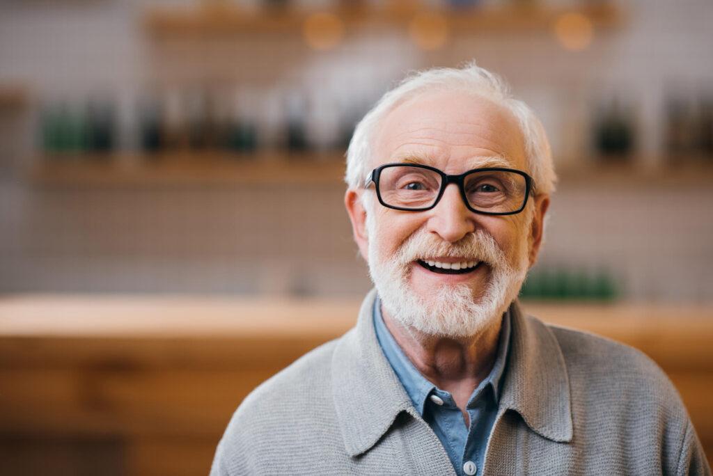 Senior man over 70